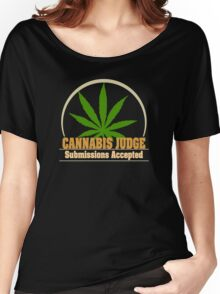 Funny Cannabis Women's Relaxed Fit T-Shirt