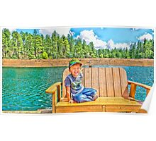 Prescott Arizona Goldwater Lake Poster
