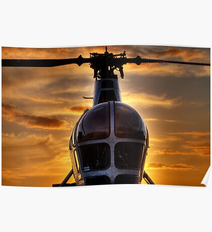 Helicopter Chatham Dockyard Poster