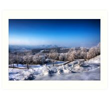 Winter Scape Art Print