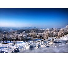 Winter Scape Photographic Print