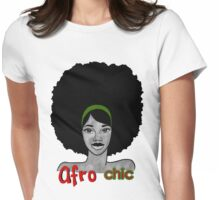 The Afro Chic Womens Fitted T-Shirt