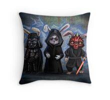 Sith Bunnies- Star Wars Parody Throw Pillow