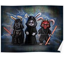 Sith Bunnies- Star Wars Parody Poster