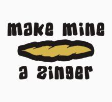 """Make Mine A Zinger"" Weed by MarijuanaTshirt"