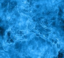 Blue fire and patterns by pardock