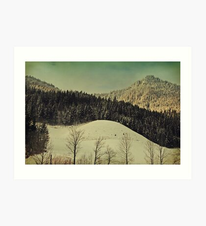 Winter Composer 4 Art Print