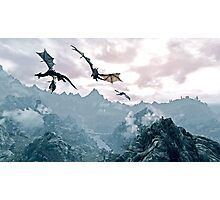 Flying dragon Photographic Print