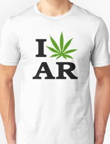 I Marijuana Arkansas T-Shirt