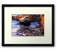 Sunset Cliffs San Diego Framed Print