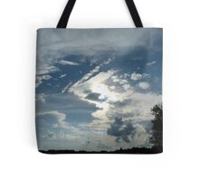 Weird and Wacky Clouds Tote Bag