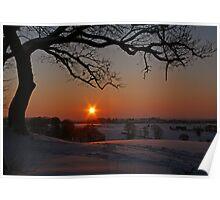 Winter solstice Poster