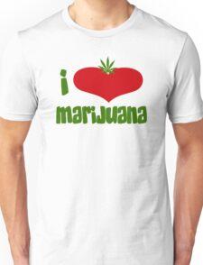 I Love Marijuana Unisex T-Shirt