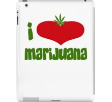 I Love Marijuana iPad Case/Skin
