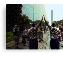 Vietnam Veterans Memorial Wall Canvas Print
