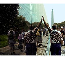 Vietnam Veterans Memorial Wall Photographic Print