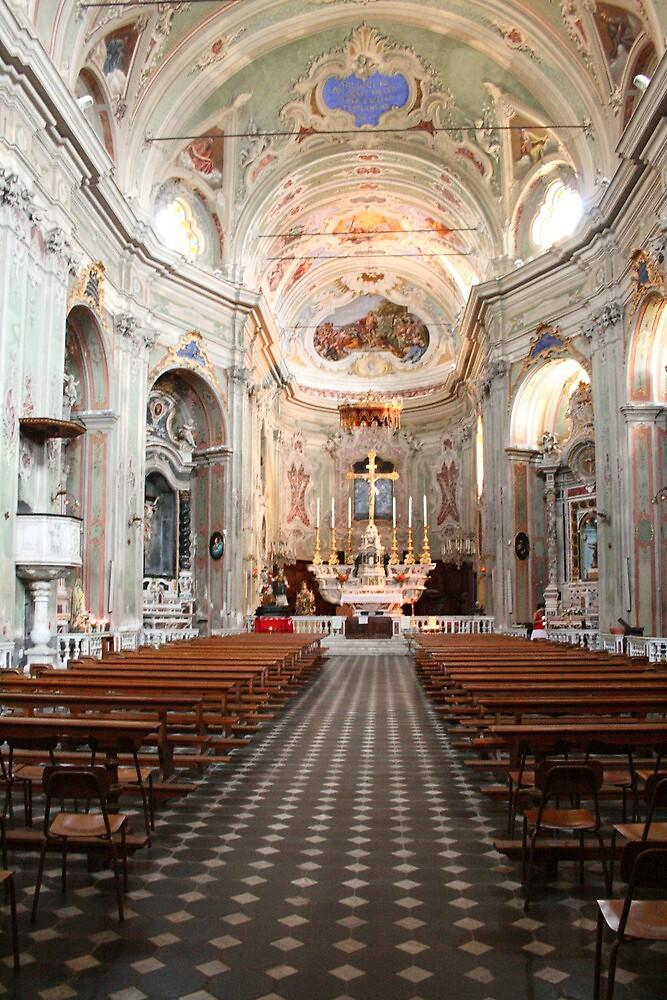 San Giovanni Batttista Cervo Italy by Paul Pasco