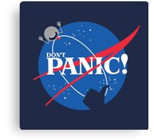 To Panic is not an Option! Canvas Print