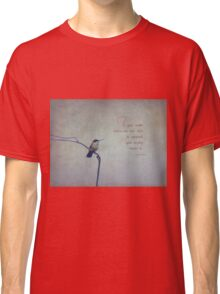 If you smile-inspirational Classic T-Shirt