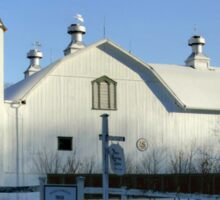 Rural Winter Whites Sticker