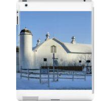 Rural Winter Whites iPad Case/Skin