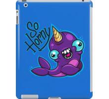 Horny Narwhal iPad Case/Skin