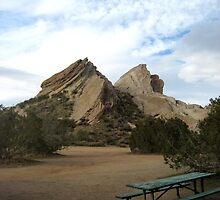 A view to the Old Man -Vasquez Rocks by Bellavista2