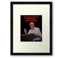 Jeremy Corbyn Framed Print
