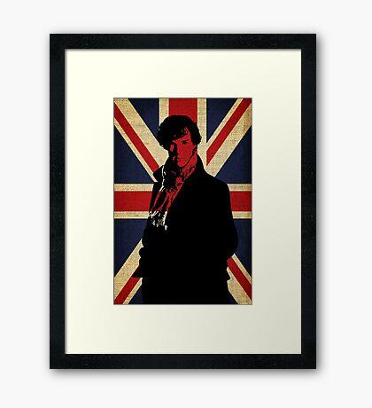 I Believe in Sherlock Holmes Framed Print