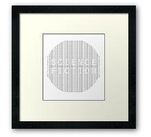 science fiction Framed Print