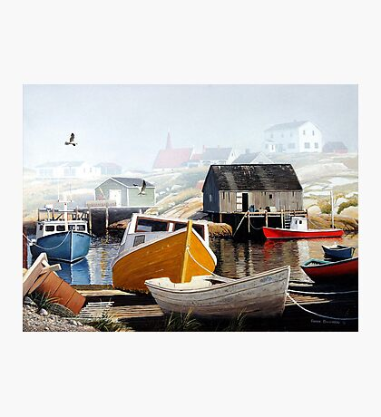 Colourful Cove Photographic Print