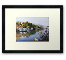 Hackett's Cove Nova Scotia Framed Print