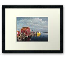 Tied Up - John's Cove Framed Print