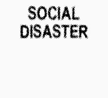 Social Disaster Womens Fitted T-Shirt