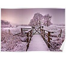 Gateway to a Lakeland winter Poster