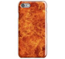 Fire and patterns iPhone Case/Skin