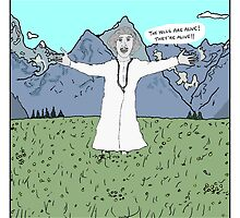 Young Frankenstein + The Sound of Music by altanimus