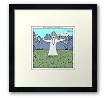 Young Frankenstein + The Sound of Music Framed Print