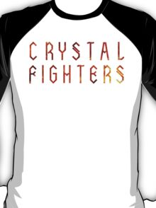 Crystal fighters on fire T-Shirt