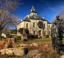 Somervell County Square by Terence Russell