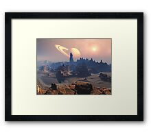 Road Through the Canyon  Framed Print