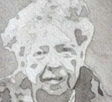 Eleanor Roosevelt Watercolor Sticker