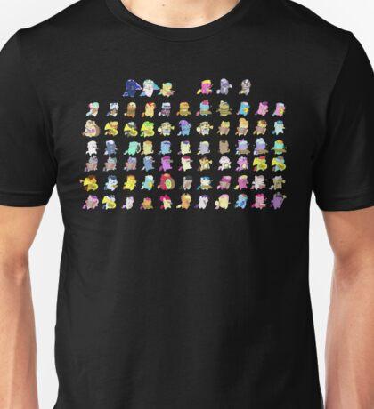 Pony Parade - The Whole Gang Unisex T-Shirt