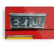 Mazda E2700 - The Emblem! Metal Print