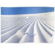Snow Lines Poster