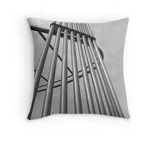 Pipes to the sky Throw Pillow