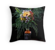 Addicted - Painterly Throw Pillow