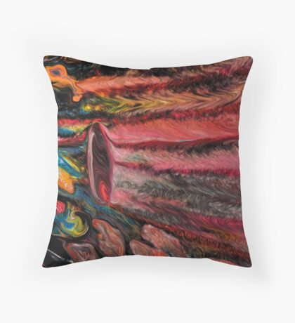 The Grouping Thing Throw Pillow