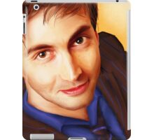 The Tenth Doctor Smiles iPad Case/Skin