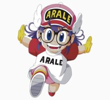 Dragon Ball - Arale Norimaki (Render) One Piece - Short Sleeve